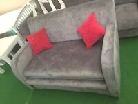 Sofa bed sale new small grey