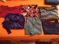 Maternity clothes XL and some XXL