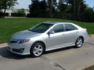 Beautiful fully loaded Toyota Camry SE model. No Accident car