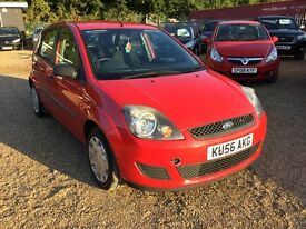 Ford Fiesta 1.4 TDCI 5dr Red