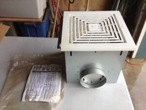 Vent fan , 6 inch discharge , L16 type
