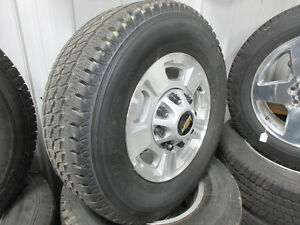 GMC 8 bolt wheels and tires