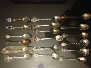 Assorted Collectible Spoons