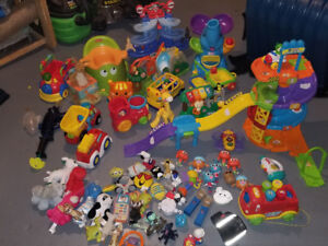 Large garbage bag of full of kids toys all for $25