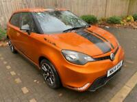 1 Owner, 2014 Orange MG MG3 1.5 VTi-TECH 3Style 5dr, Low Mileage 20,000