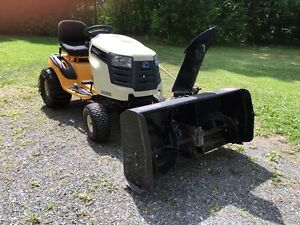 Cub Cadet ride on mower and Berco blower