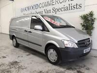 2013 63 Mercedes-Benz Vito 2.1CDi 113cdi Blue efficiency Long vito van