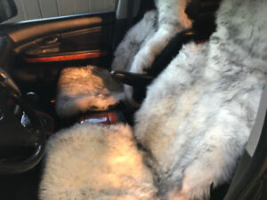 GENUINE FUR CAR SEAT COVERS $200 for a set of two