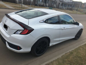Honda Civic 2017 as new tint and mag rims