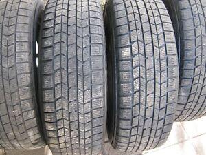 4 195 65 15 Dunlop graspic ds3 les pneus ont entre7 et 7,5 /32 4