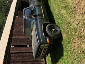 1985 square body Chevy pick up with 350 small block