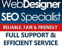 SPECIAL OFFER 50% OFF! Web Designer Pinner London, WordPress Specialist, SEO Expert