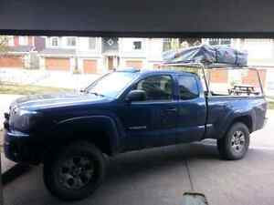 2006 toyota tacoma trd offroad with locker! And roof top tent!
