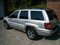 2003 Jeep Grand Cherokee overland VUS