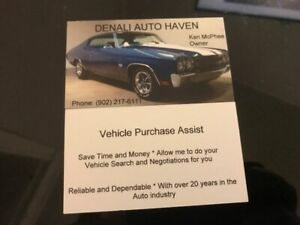 Vehicle Purchase Assist