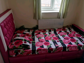 Girl bed plus mattes