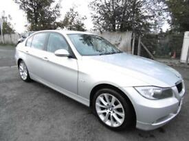 BMW 320 2.0TD 2008 d Edition SE, FSH, Saloon, Silver
