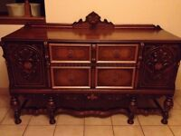 AWESOME antique buffet