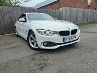 2013 63 Reg BMW 420 2.0TD ( 184bhp ) d SE White Coupe