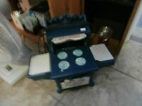 Vintage Holly Hobbie Toy Kitchen Stove at KeepSakes Shop