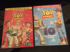 Toy story dvds