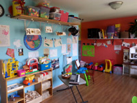 1 pre school space available in September