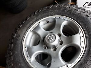 Xterra mags and off road tires
