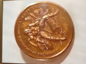 Conan 1974 Official Marvel Collector's Bronze Coin