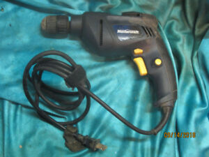 Mastercraft 3/8 Chuckless Corded Drill