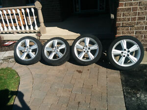 "17"" Toyota Rims /Tires with tire press. monitor"