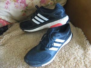 Men's ADIDAS ENERGY BOOST shoes, size 12. Black & white London Ontario image 2