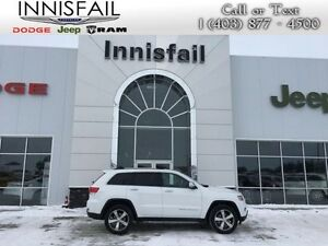 2016 Jeep Grand Cherokee Limited  4WD, Leather, Heated Seats, Su