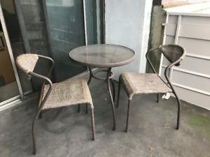 Outdoor Patio Table Set