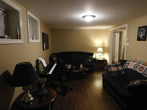 Spacious and bright basement apartment, avail March 1