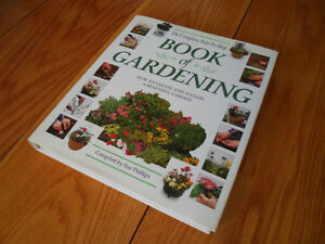 BOOK OF GARDENING, HARDCOVER, FULL OF COLOR PICTURES