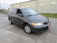 2004 Honda Odyssey, EX, 7 Pass,  warranty available, Certified.