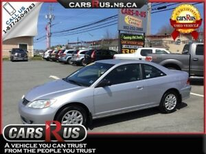 2004 Honda Civic LX 2dr Coupe