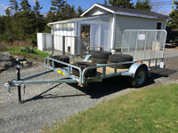 2015 6'x12' trailer with ramp