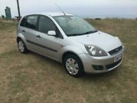 Ford Fiesta 1.4 tdci Zetec climate LEFT HAND DRIVE 88000 miles 1 owner