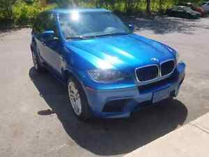 Bmw x5m blue 2012 72000kl