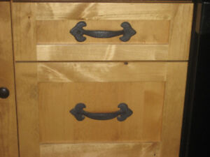 Heavy Black Cast Iron Cabinet Handles, , I have 30
