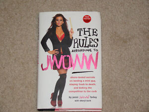 THE RULES ACCORDING TO JWOWW HARDCOVER BOOK ***JERSEY SHORE***