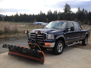 Ford F350 diesel Lariat, with Arctic plow