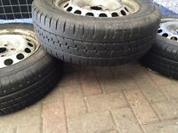 Vw caddy wheels and tyres