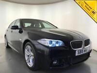 2015 BMW 520D M SPORT AUTOMATIC DIESEL SALOON SAT NAV 1 OWNER SERVICE HISTORY