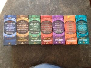 Stargate SG1 complete season 1 to 7 DVD collection