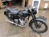 1953 ROYAL ENFIELD 350cc MODEL G, 3 OWNERS ORIGINAL BIKE LOADS OF HISTORY