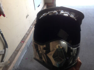 Youth xl dirt bike helmet for sale
