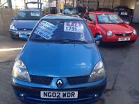 RENAULT CLIO 1.2 ONLY 80000 MILES £795!!!!!