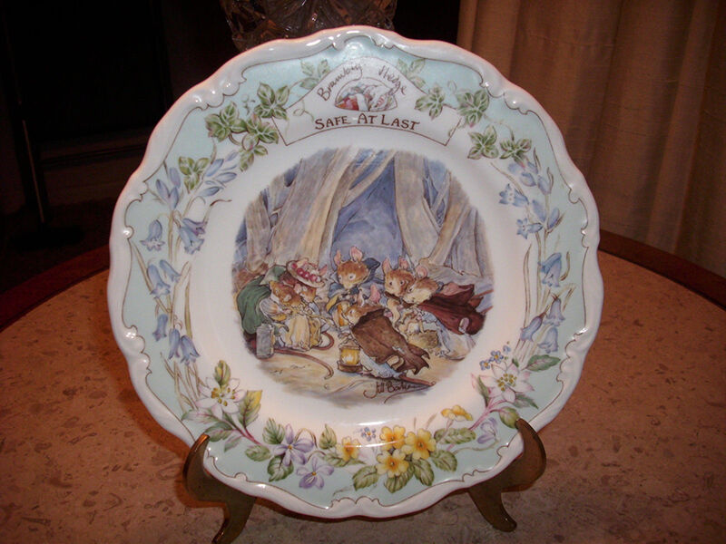 How to Buy a Brambly Hedge Plate
